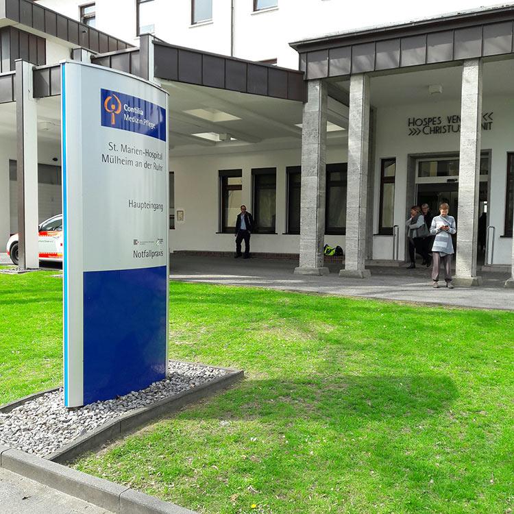Referenzobjekte Krankenhäuser Ingenieurgesellschaft Boland Mbh